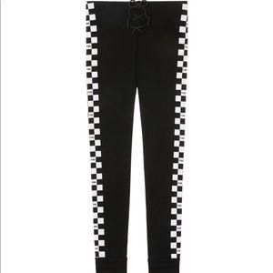 7f0d0e9927864 PINK Victoria's Secret Pants - 🆕 VS PINK High Waist Drawstring Checkered  Legging